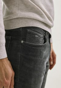 Massimo Dutti - ENTBASTETE  - Trousers - grey - 3
