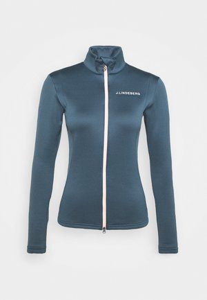 KATI GOLF MID LAYER - Fleece jacket - orion blue