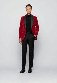 BOSS - HELWARD4 - Blazer jacket - dark red - 1