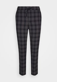 ONSLINUS CROPPEED CHECK PANT - Trousers - blues