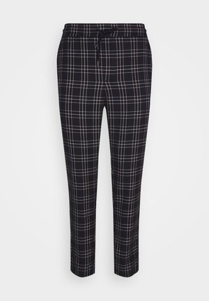 ONSLINUS CROPPEED CHECK PANT - Pantaloni - blues