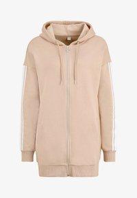 Bench - Zip-up hoodie - camelfarben-weiß - 5