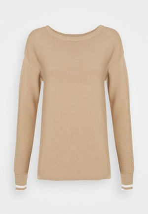 Jumper - light brown/beige