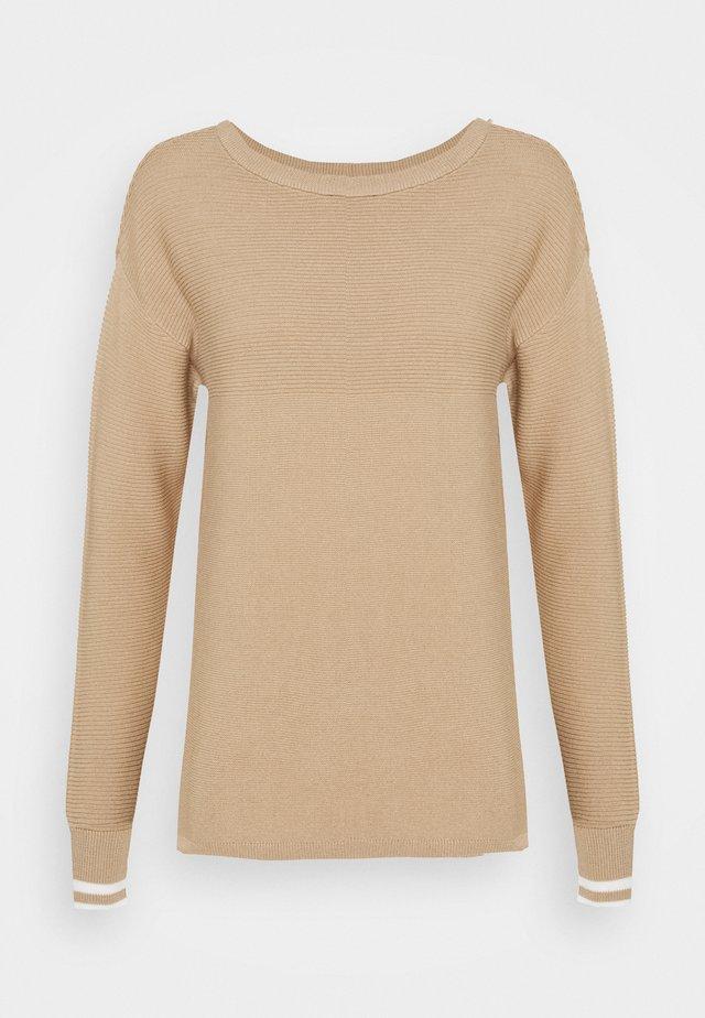 Sweter - light brown/beige
