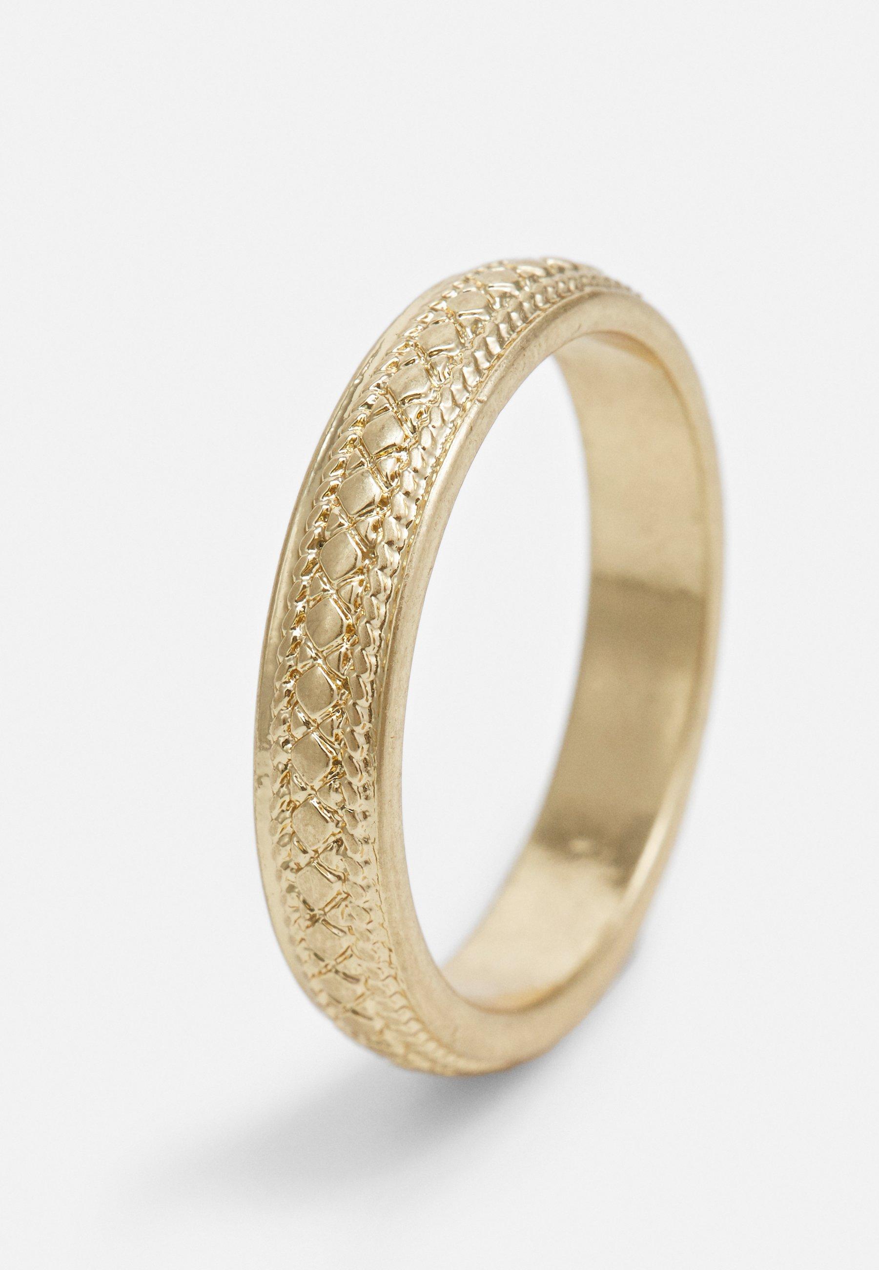 River Island Ring - gold-coloured/gull S9V5X4zHpN1eKP8