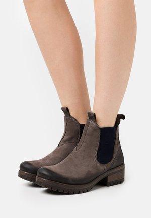 Kotníková obuv - grey/blu