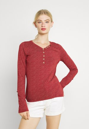 PINCH - Long sleeved top - chili red