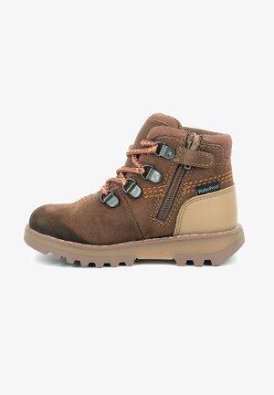 BOTTILLONS - Lace-up ankle boots - marron clair
