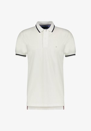 BASIC TIPPED REGULAR - Polo shirt - weiss (100)