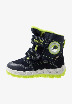 ICEBIRD - Winter boots - blau/grün