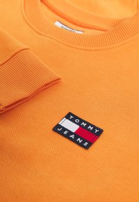 Tommy Jeans - TOMMY BADGE CREW - Bluza - rustic orange - 6