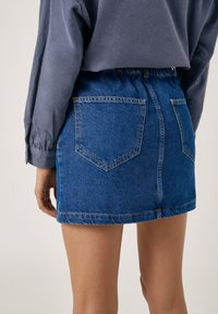 PULL&BEAR - Gonna di jeans - blue - 4