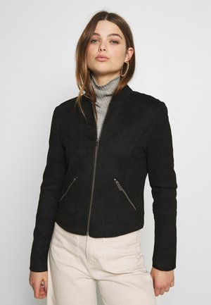 VMSUMMERSIV JACKET - Faux leather jacket - black