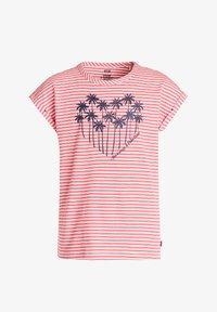 WE Fashion - Print T-shirt - red - 0