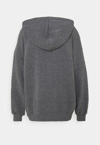 NA-KD - NA-KD X ZALANDO EXCLUSIVE ZIP HOODIE - Sweat à capuche zippé - dark grey - 7
