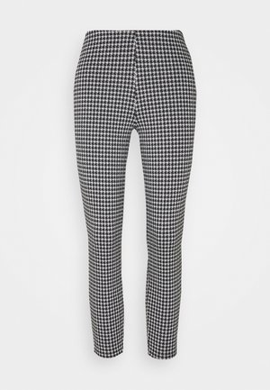 NMHOUND LEGGING - Pantalones - black/white