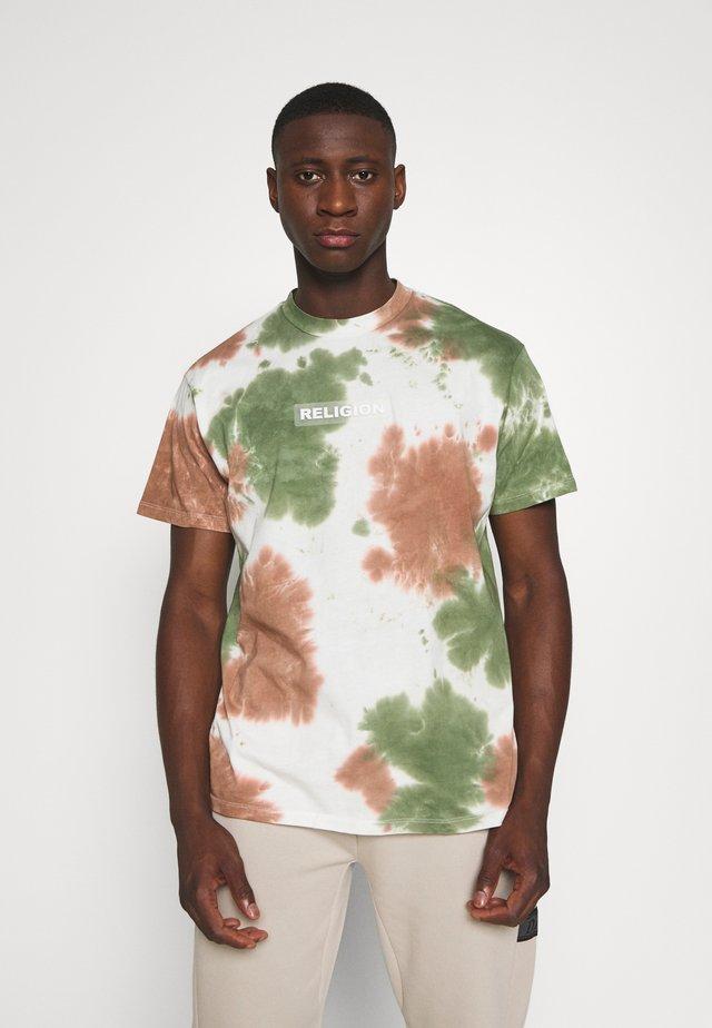 TOXIC TEE - T-shirt imprimé - tie dye