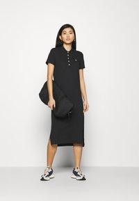 GANT - POLO DRESS - Day dress - black - 1