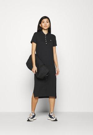 POLO DRESS - Day dress - black