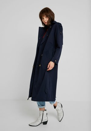 ALBERT - Trenchcoat - navy