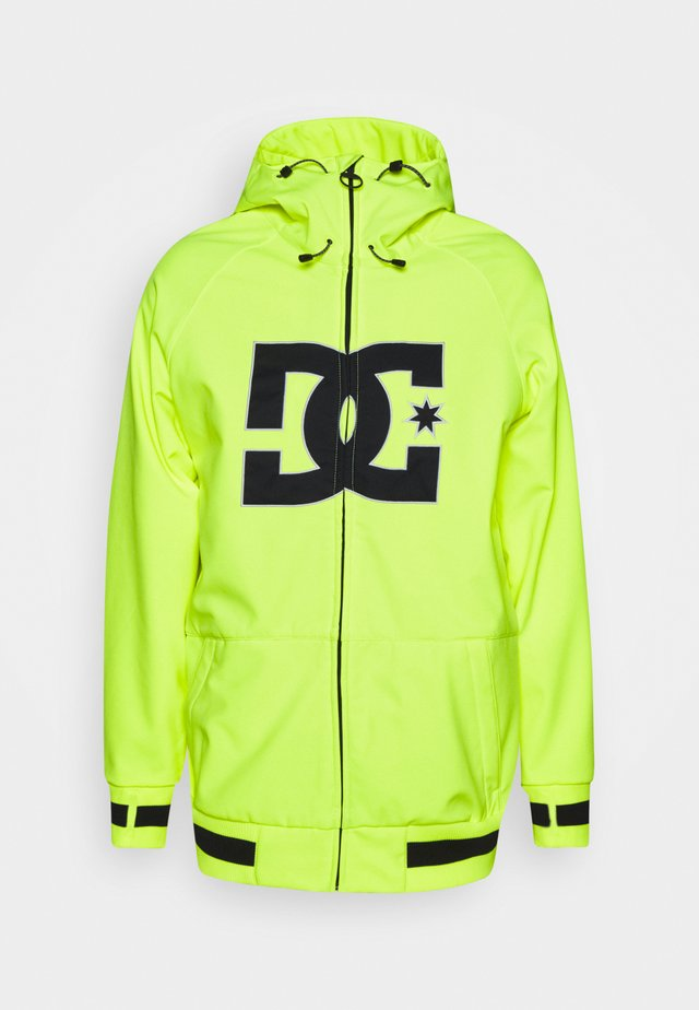 SPECTRUM JACKET - Snowboard jacket - safety yellow