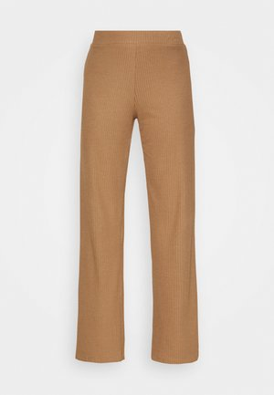 ONLLIZA WIDE PANTS - Pantalones - toasted coconut