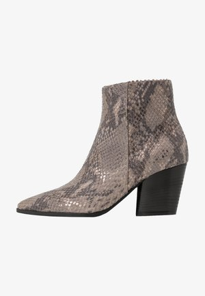 AMBER - Classic ankle boots - taupe