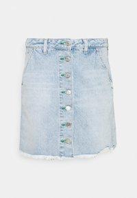Tommy Jeans - SHORT SKIRT - Jupe en jean - blue denim - 4