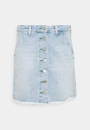 SHORT SKIRT - Jupe en jean - blue denim