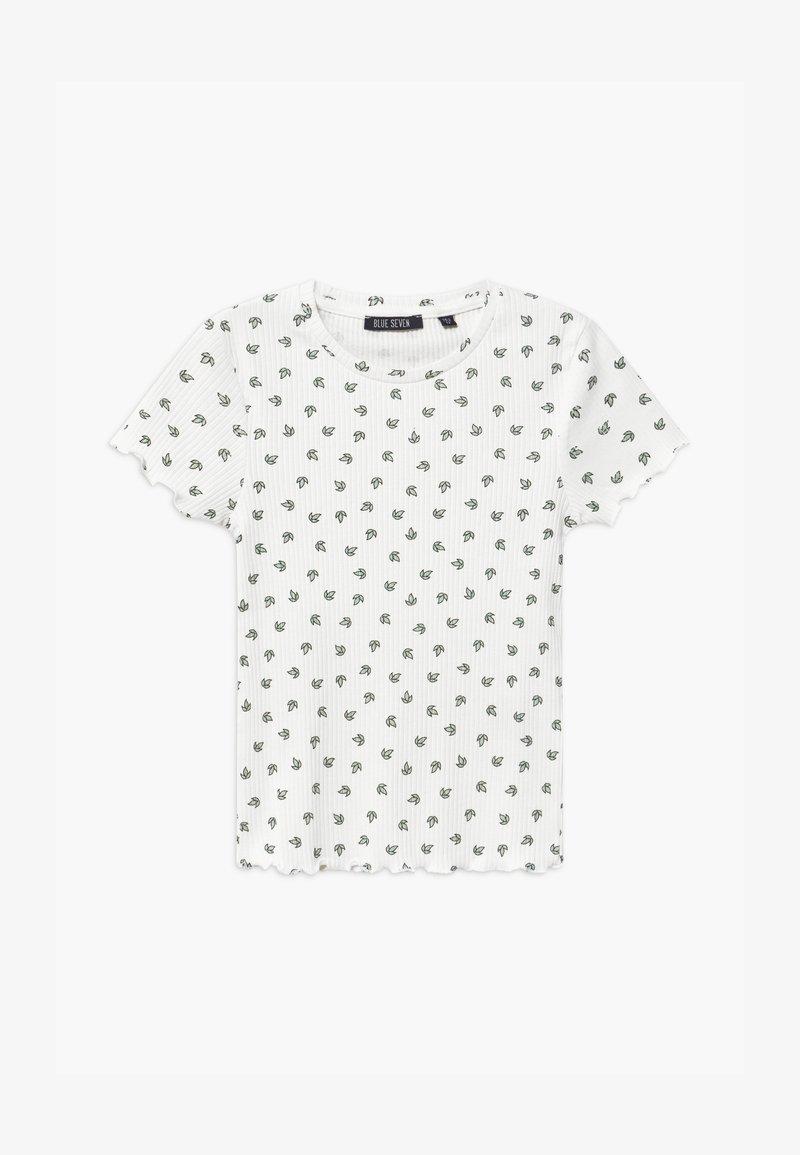 Blue Seven - TEEN GIRL - Print T-shirt - offwhite