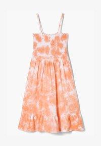 s.Oliver - MIT BATIK-EFFEKT - Jersey dress - apricot - 0