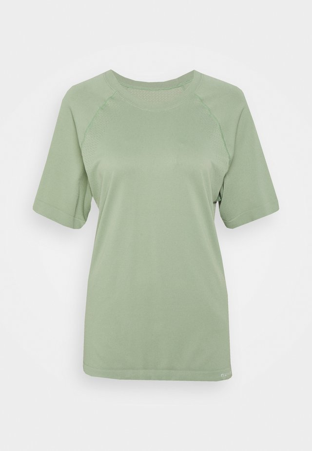 SHORT SLEEVE TRAINING - T-shirt basique - faded khaki