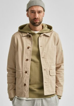 Summer jacket - plaza taupe