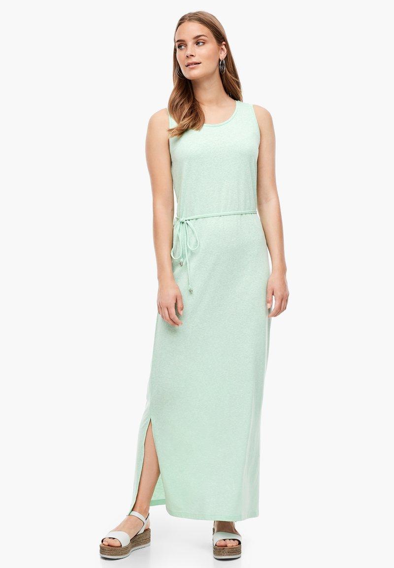 s.Oliver - Maxi dress - mint melange