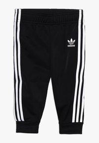 adidas Originals - SUPERSTAR SET - Zip-up hoodie - black/white - 2