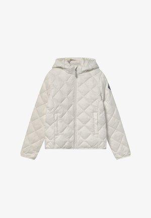 THE WEIGHT DIAMOND PUFFER - Winter jacket - eggshell