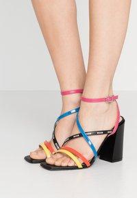 MSGM - DONNA WOMANS - High heeled sandals - multicolor/black - 0