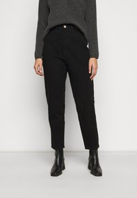 Missguided Petite - RIOT MOM - Jeans a sigaretta - black - 0