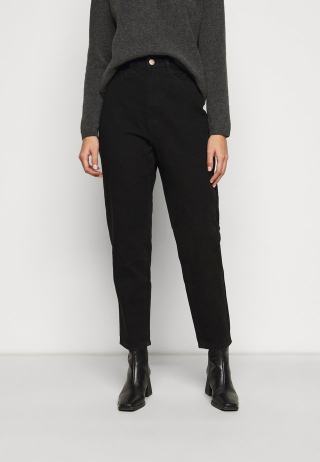 RIOT MOM - Straight leg jeans - black