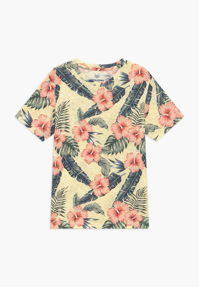 JORELI TEE CREW NECK - T-shirt z nadrukiem - multi-coloured