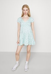 Hollister Co. - SHORT DRESS - Vestido ligero - mint - 0
