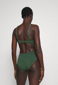 Seafolly - SEA DIVE WIDE SIDE RETRO - Bikini bottoms - ivy - 2
