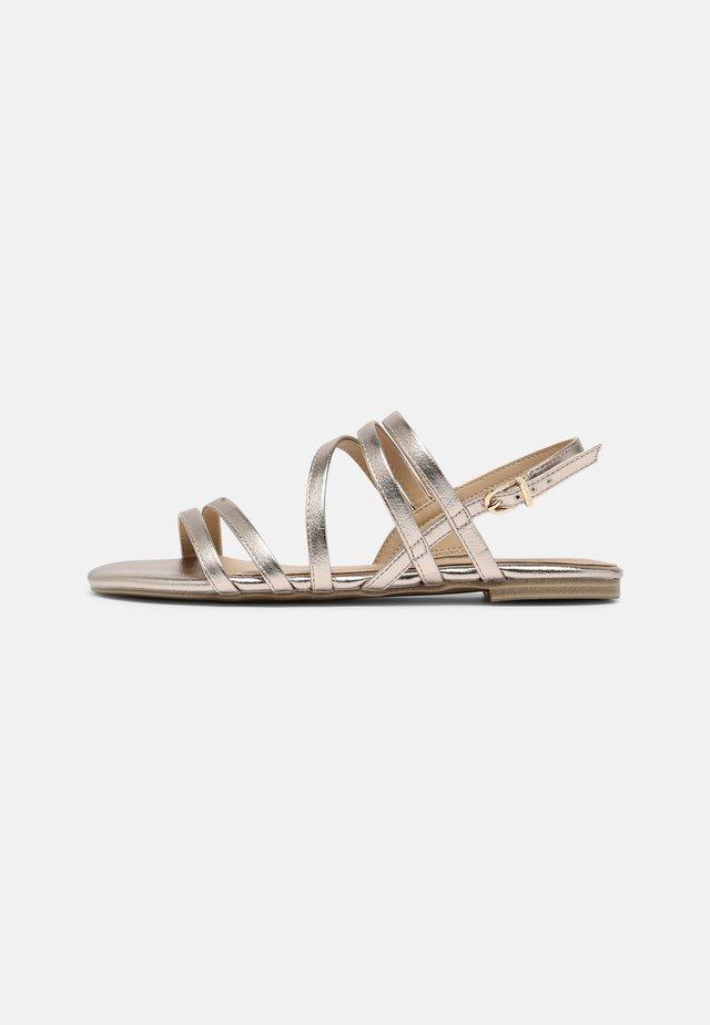 Sandales - light gold
