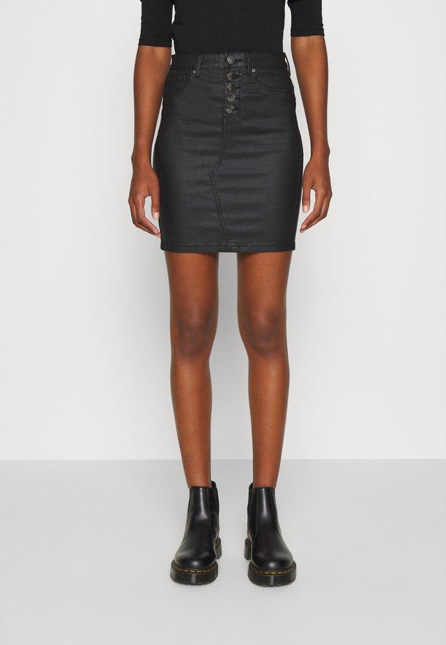 ONLROYAL - Minijupe - black