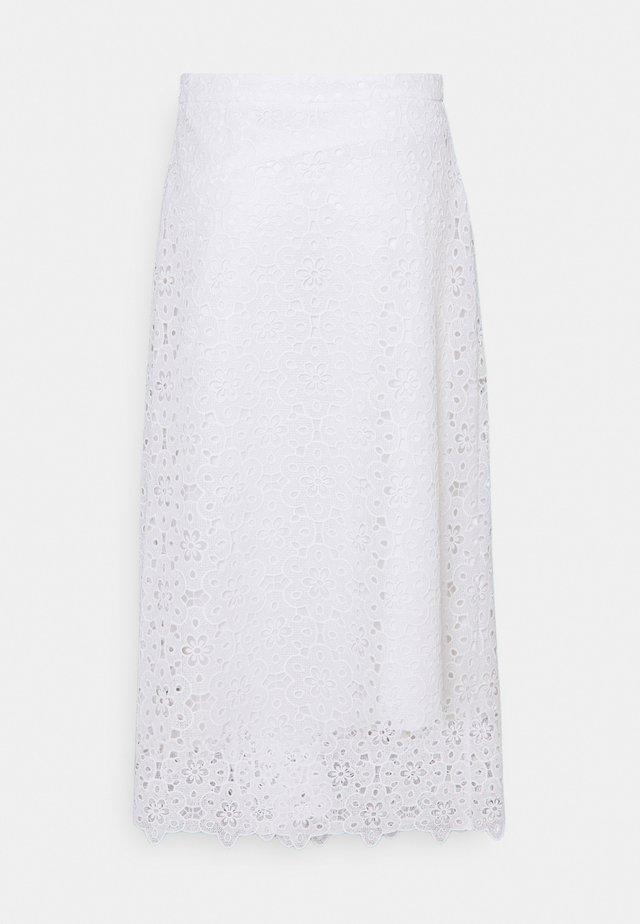 SKIRTS - A-line skirt - white