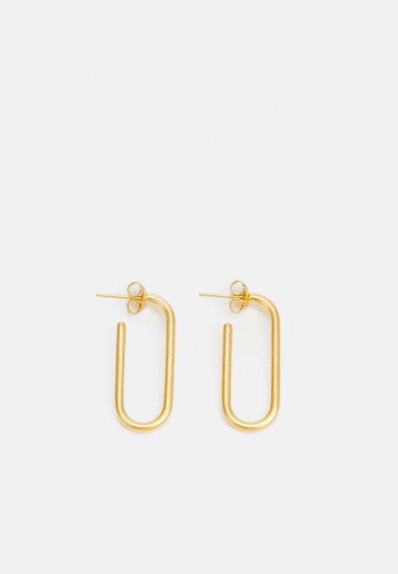 Julie Sandlau - LINK HOOPS - Orecchini - gold-coloured