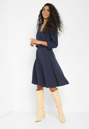 Jumper dress - nachtblau