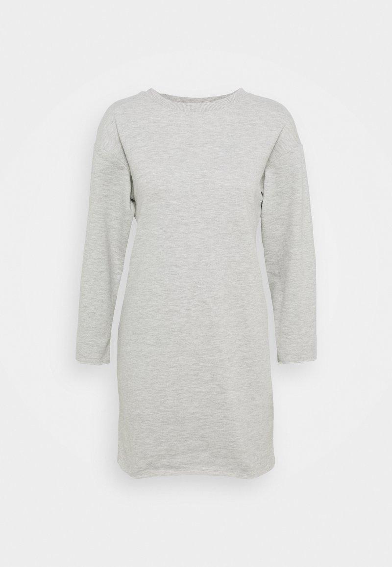 Dorothy Perkins - LONGLINE - Sweatshirt - grey