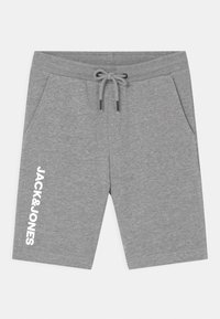 Jack & Jones Junior - JJISIDESHARK  - Shorts - light grey melange - 0