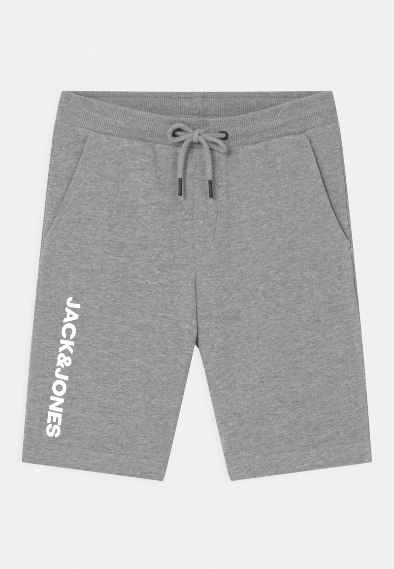 Jack & Jones Junior - JJISIDESHARK  - Shorts - light grey melange